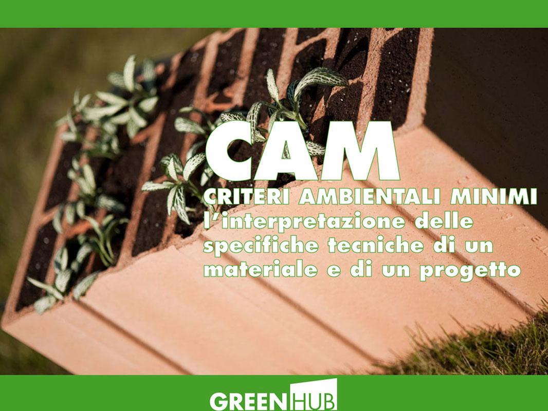 CAM - Criteri Ambientali Minimi
