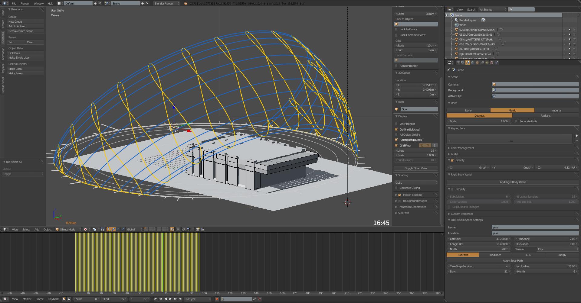 Lo Studio Solare e le Mappe d'ombra