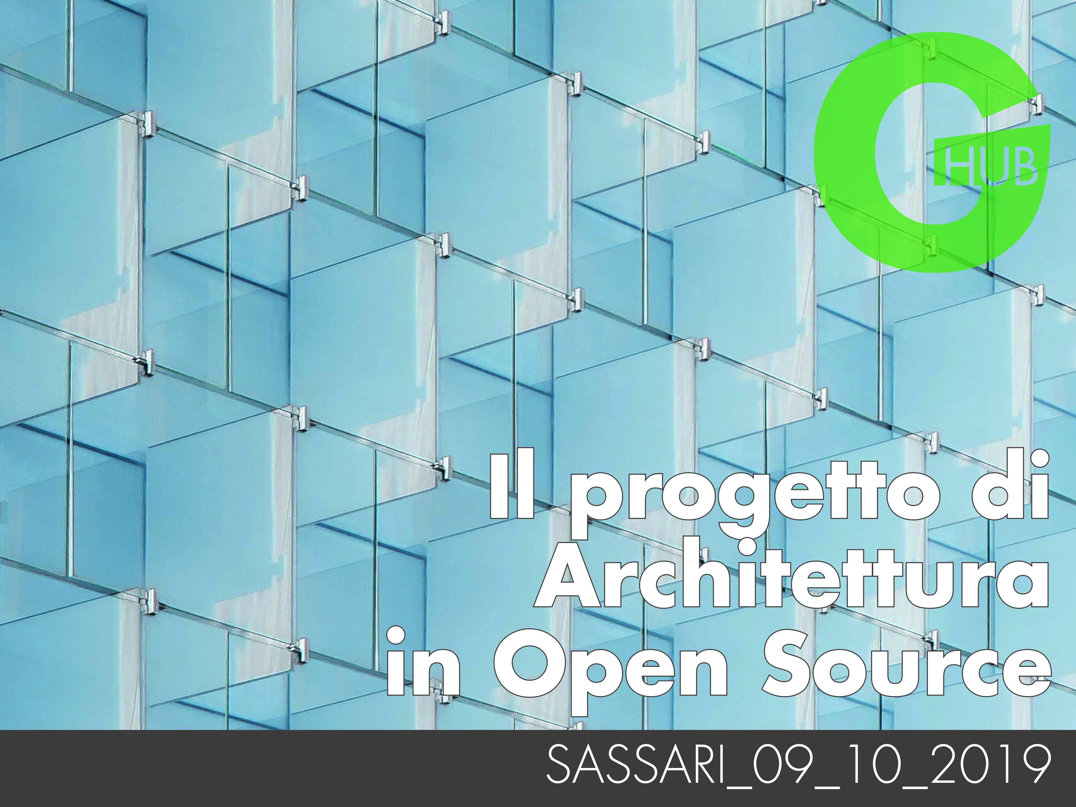 Il progetto di Architettura in Open Source